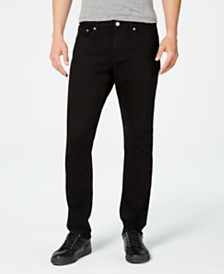 Calvin Klein Jeans Men's Slim-Fit Forever Black Jeans