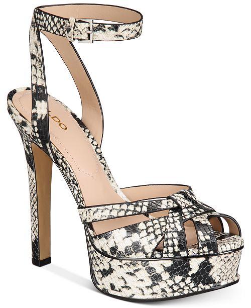 ALDO Lacla Platform Dress Sandals