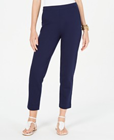 Michael Michael Kors Slim Pull-On Pants, Regular & Petite Sizes
