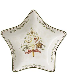 Villeroy & Boch Winter Bakery Delight Small Star Bowl, Tree Design