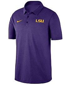 Nike Men's LSU Tigers Dri-FIT Breathe Polo