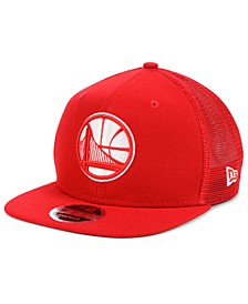 Golden State Warriors Dub Fresh Trucker 9FIFTY Snapback Cap