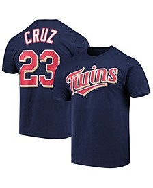 Men's Nelson Cruz Minnesota Twins Official Player T-Shirt