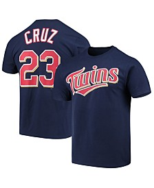 Majestic Men's Nelson Cruz Minnesota Twins Official Player T-Shirt