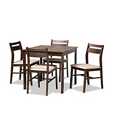 Lovy 5pc Dining Set