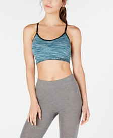 Calvin Klein Performance Space-Dyed Racerback Low-Impact Sports Bra