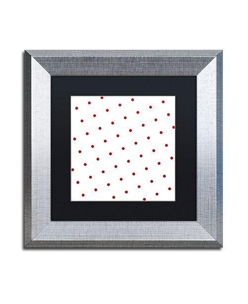 "Trademark Global Color Bakery 'Group 05 B' Matted Framed Art - 11"" x 11"""