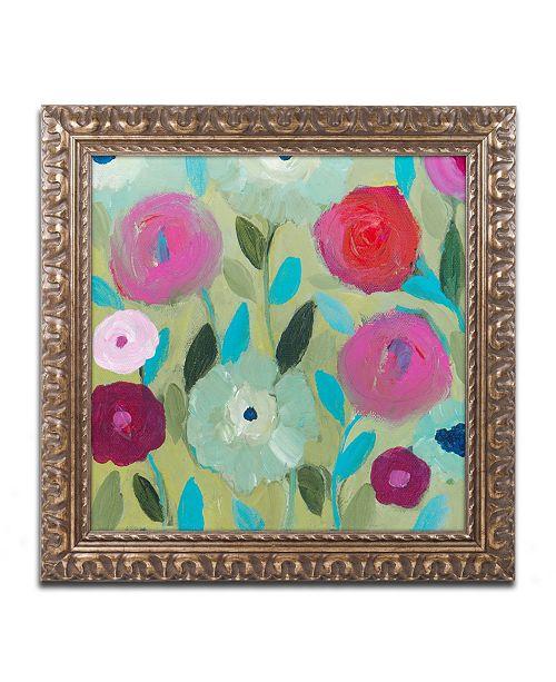 "Trademark Global Carrie Schmitt 'Peace' Ornate Framed Art - 11"" x 11"""
