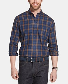 Men's Heritage Classic-Fit Plaid Twill Shirt