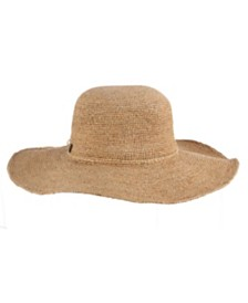 Tommy Bahama Raffia and Lurex Floppy Hat