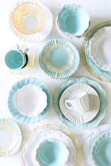 Vietri Incanto Stone Baroque Dinnerware Collection