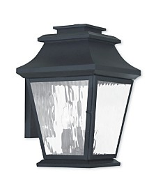 CLOSEOUT! Livex   Hathaway 3-Light Outdoor Wall Lantern
