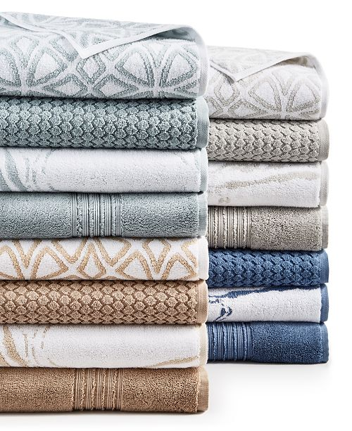 Hotel Collection Turkish Cotton Bath Towel Collection, Created for Macy's
