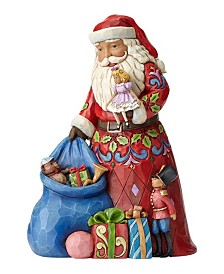 Jim Shore Santa with Toy Bag