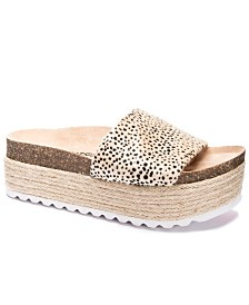 Dirty Laudry Pippa Wedge Sandals