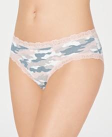 Jenni Women's Printed Lace Bikini Underwear, Created for Macy's
