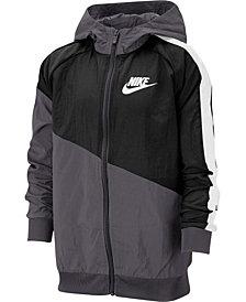 Nike Big Boys Hooded Sportswear Jacket