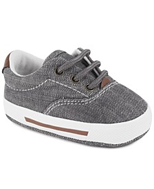 Baby Boy Canvas Lace-Up Sneaker