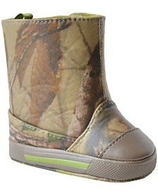 Baby Deer Baby Boy Realtree Camo Boot with TPU-Covering