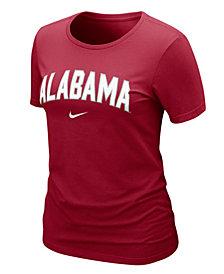 Nike Women's NCAA T-Shirt, Alabama Crimson Tide Arch Graphic Tee