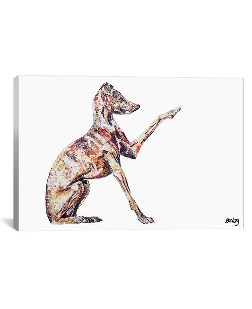 "iCanvas Italian Greyhound by Becksy Gallery-Wrapped Canvas Print - 12"" x 18"" x 0.75"""