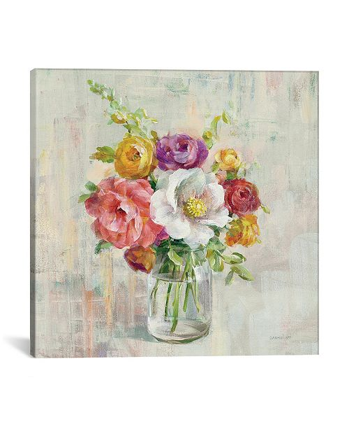 """iCanvas Summer Treasures I by Danhui Nai Gallery-Wrapped Canvas Print - 18"""" x 18"""" x 0.75"""""""