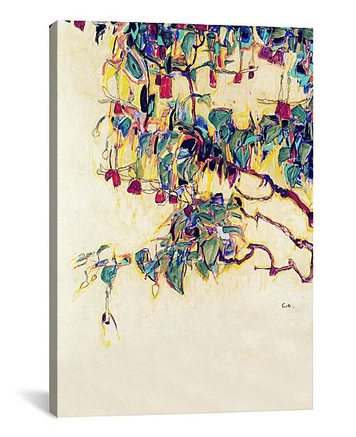 "iCanvas Sun Tree by Egon Schiele Gallery-Wrapped Canvas Print - 60"" x 40"" x 1.5"""