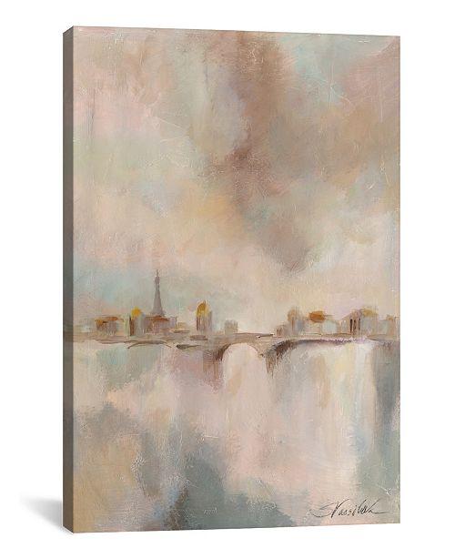 "iCanvas Paris Morning Mist I by Silvia Vassileva Gallery-Wrapped Canvas Print - 40"" x 26"" x 0.75"""