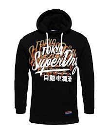 Men's Ticket Type Oversized Hoodie
