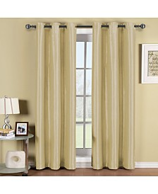 "Elegant Comfort Triple Layer Thermal Insulated Blackout Grommet Window Panel Set - Set of 2 - 54"" x 84"" Each"