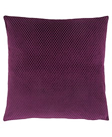 "18"" x 18"" Diamond Velvet Pillow"
