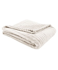 Ultra Soft Ribbed Style Throw