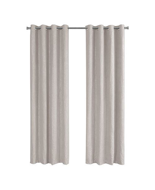 Monarch Specialties Room Darkening Curtain Panel, Set Of 2