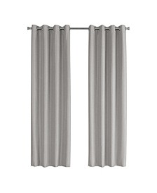 Solid Blackout Curtain Panel, Set of 2