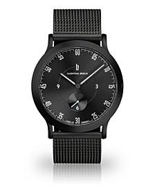 L1 All Black Mesh Watch 37mm