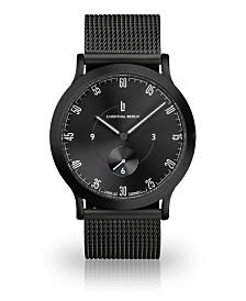 Lilienthal Berlin L1 All Black Mesh Watch 37mm