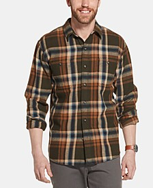 Men's Bull Twill Plaid Shirt