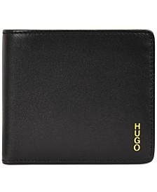 HUGO Men's Subway Leather Wallet