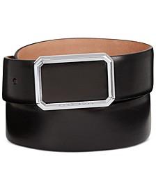 HUGO Men's Ereso Leather Belt