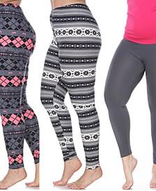 Pack of 3 Plus Size Leggings