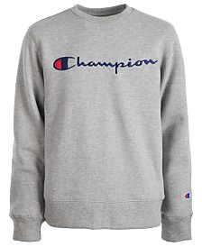 Champion Big Boys Logo-Print Sweatshirt