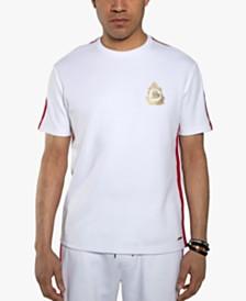 Sean John Men's Ribbed Trim T-Shirt