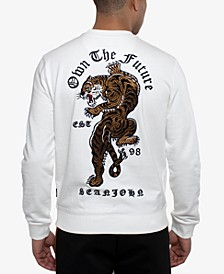 Men's Embroidered Tiger Sweatshirt