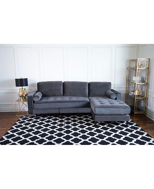 Awe Inspiring Easton Sectional Sofa Quick Ship Creativecarmelina Interior Chair Design Creativecarmelinacom