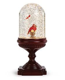 Napco LED Red Cardinal in Water Globe