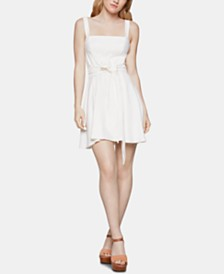 BCBGeneration Bow-Front Fit & Flare Dress