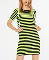 bae808e6 MICHAEL Michael Kors Striped T-Shirt Dress, in Regular & Petite Sizes