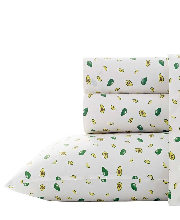 Poppy & Fritz Avocados Sheet Set, Twin XL