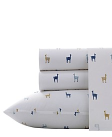 Llamas Sheet Set, Queen