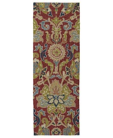 Home and Porch 2042-25 Red 2' x 6' Runner Rug